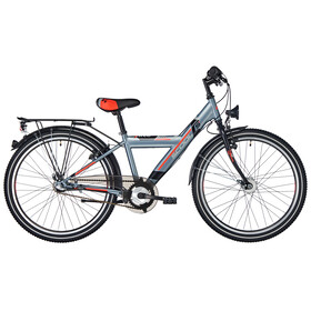s'cool XYlite 24 3-S Børnecykel steel grå